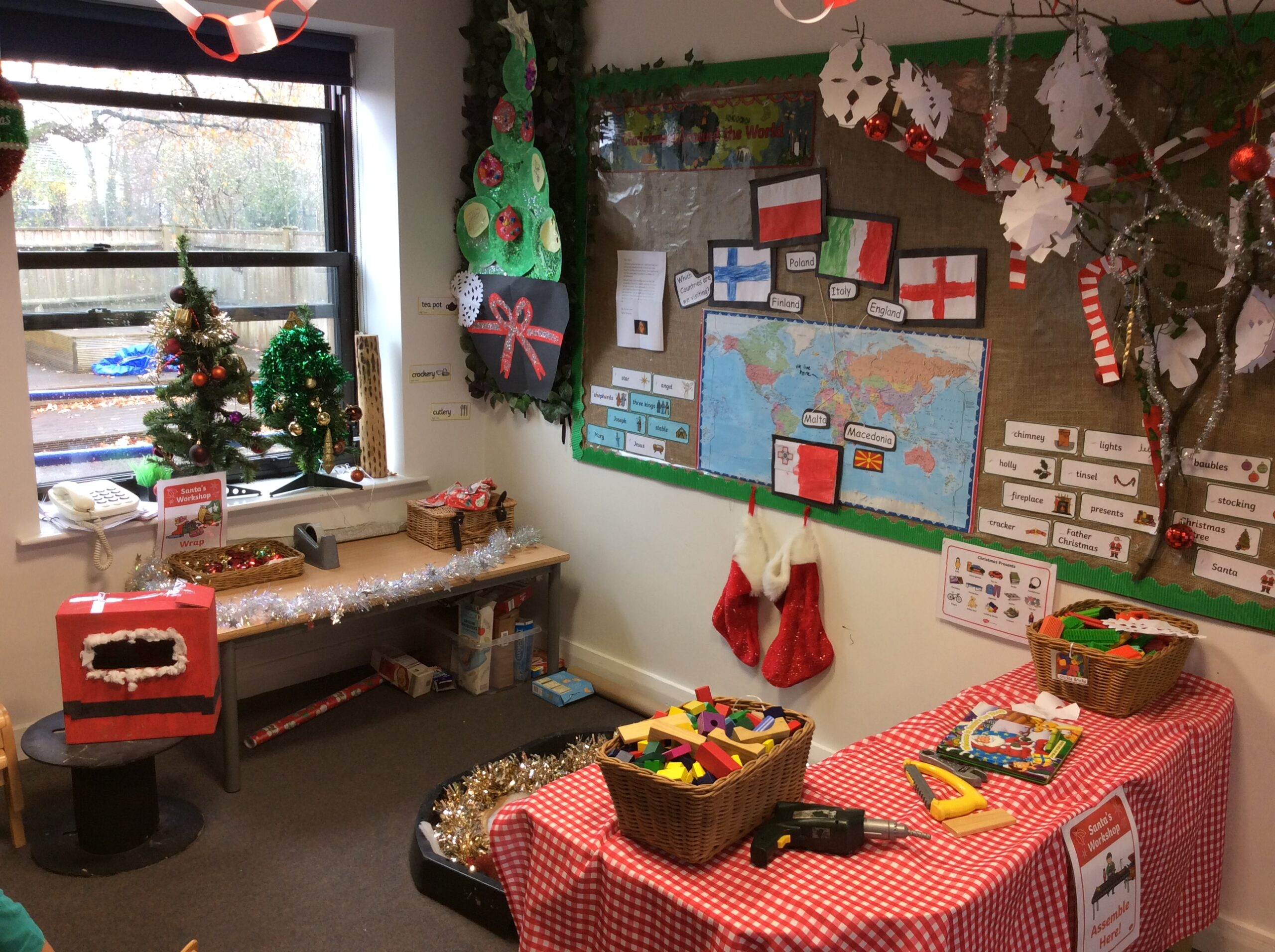 Christmas has arrived already in Year R!