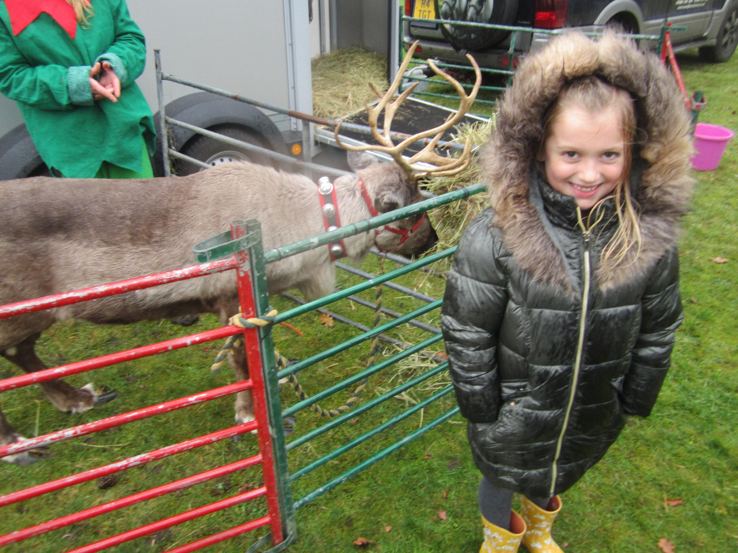 Reindeers visit Rownhams!